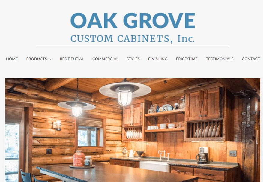 Oak grove cabinets for 5 star kitchen cabinets