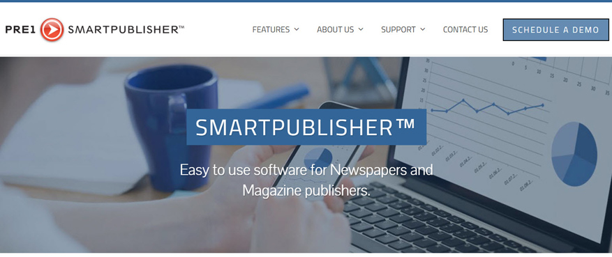 Pre1 Newspaper Software Web Design